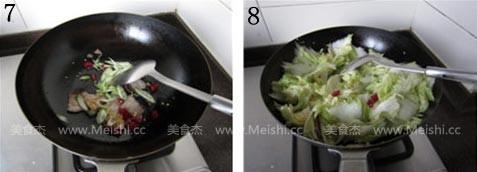 醋溜白菜的简单做法