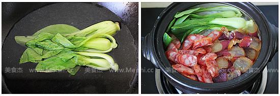 广式腊味煲仔饭的简单做法