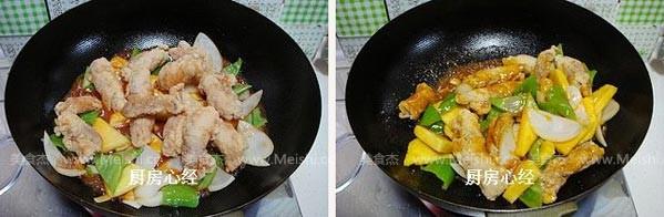 菠萝古老肉怎么炖