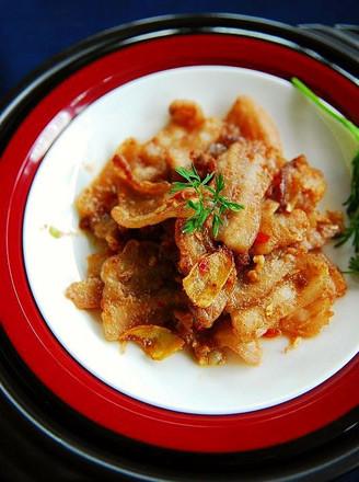 虾酱生煎五花肉的做法