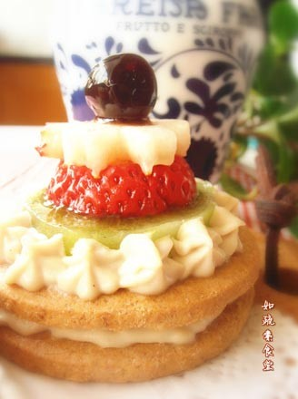 水果甜点的做法