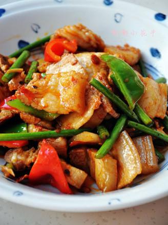 香辣回鍋肉的做法