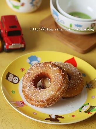 甜甜圈的做法