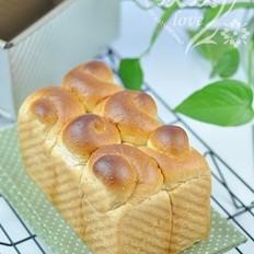 全麦肉松土司(面包桶版)