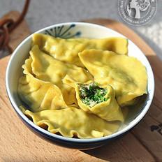 咖喱荠菜猪肉饺
