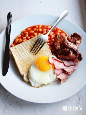 豪华英式早餐的做法