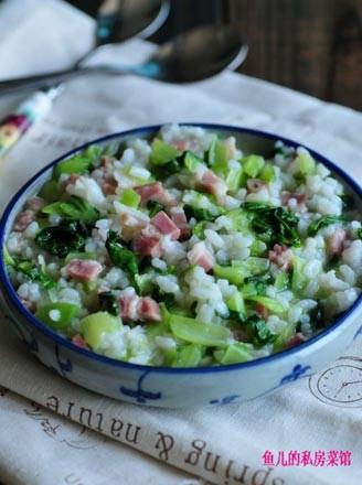 咸肉菜泡饭的做法