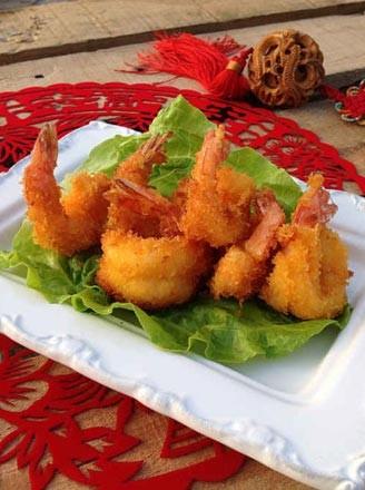 香酥凤尾虾的做法