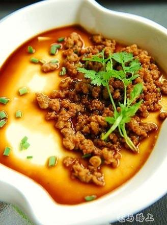 肉沫豆腐蛋羹的做法