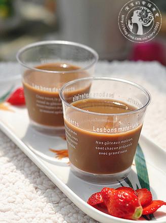 黑糖奶茶果冻的做法