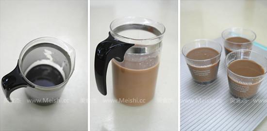 黑糖奶茶果冻的家常做法