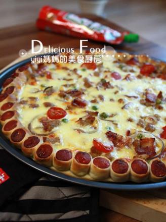 花邊披薩的做法