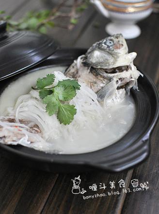 鯽魚蘿卜絲湯的做法