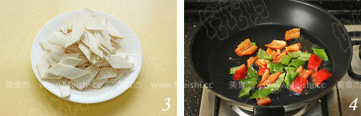 铁板黑椒杏鲍菇的做法图解