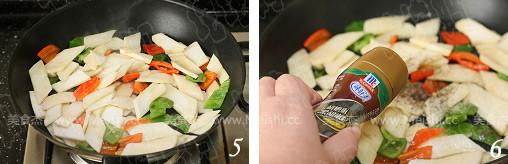 铁板黑椒杏鲍菇的家常做法