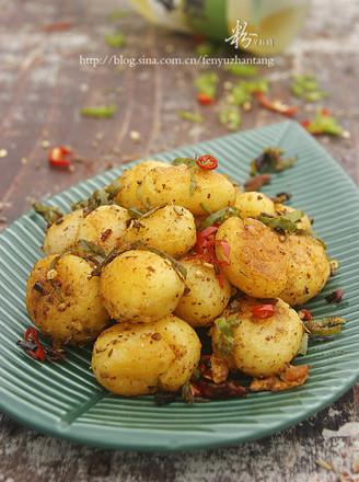 孜然椒鹽小土豆的做法