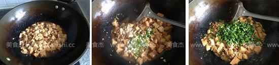 蒜香肉末烧豆腐怎么炒