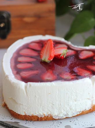 草莓果凍慕斯蛋糕的做法