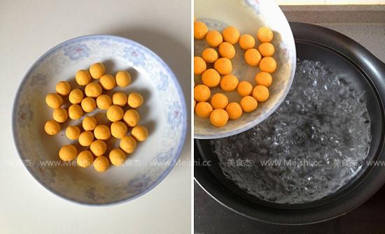 南瓜圆子红豆汤怎么炒