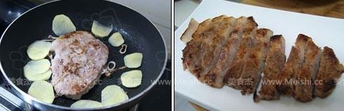 香煎猪排的简单做法