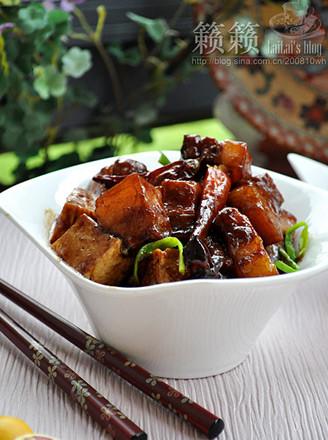 千頁豆腐紅燒肉的做法