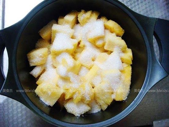自制菠萝罐头的做法图解