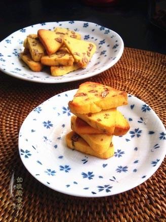 山核桃玉米饼干的做法