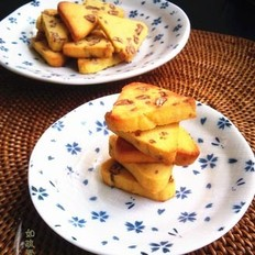 山核桃玉米饼干
