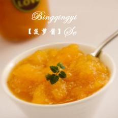正宗桂花蜜怎么做菠萝酱的做法