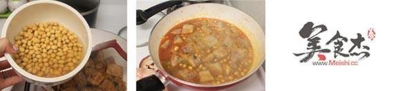 黄豆炖排骨的家常做法