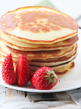 美式草莓薄饼的做法