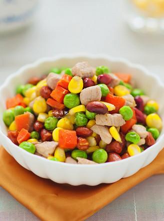 豌豆小炒的做法
