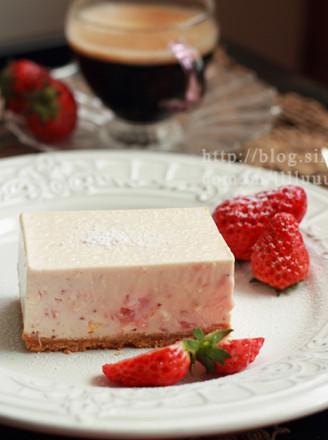 草莓凍乳酪蛋糕的做法