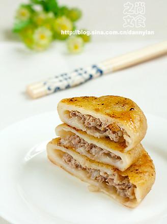 牛肉元蔥餡餅的做法