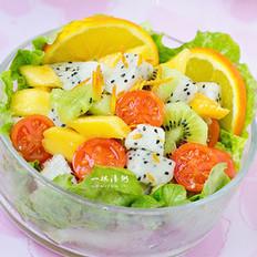 橙汁水果沙拉