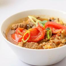 西红柿炖牛肉