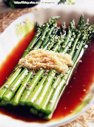 響油蘆筍的做法