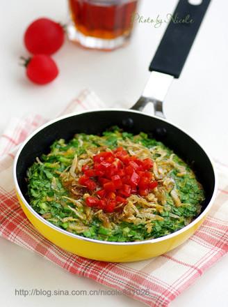 虾皮韭菜黄豆饼的做法