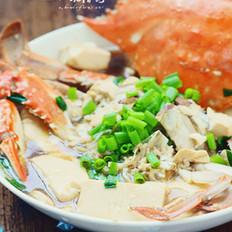 豆腐梭子蟹