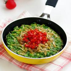 虾皮韭菜黄豆饼