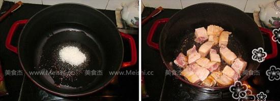 梅菜芋香红烧肉的做法图解