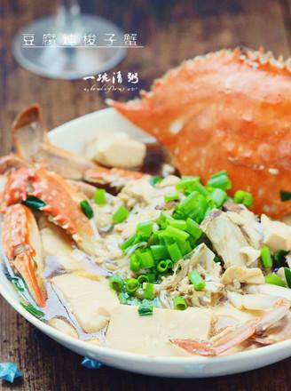 豆腐梭子蟹的做法