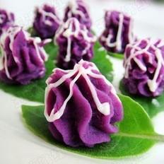 紫薯泥沙拉