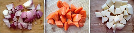 胡萝卜土豆烧牛腩怎么煮