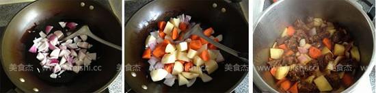 胡萝卜土豆烧牛腩怎么炖