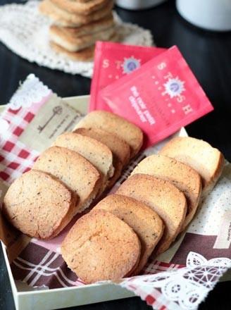 红茶饼干的做法
