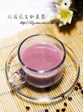 桂圆花生红豆浆的做法