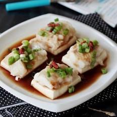 豆腐鲜蒸海鱼的做法大全