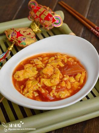 番茄醬炒蛋的做法