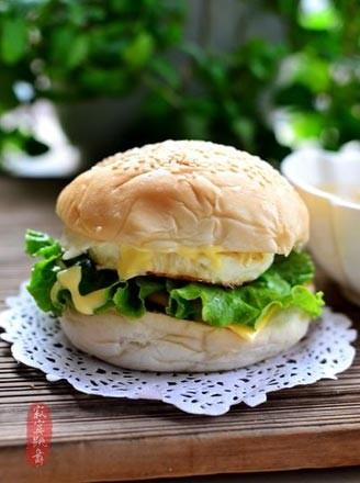烤肉漢堡的做法